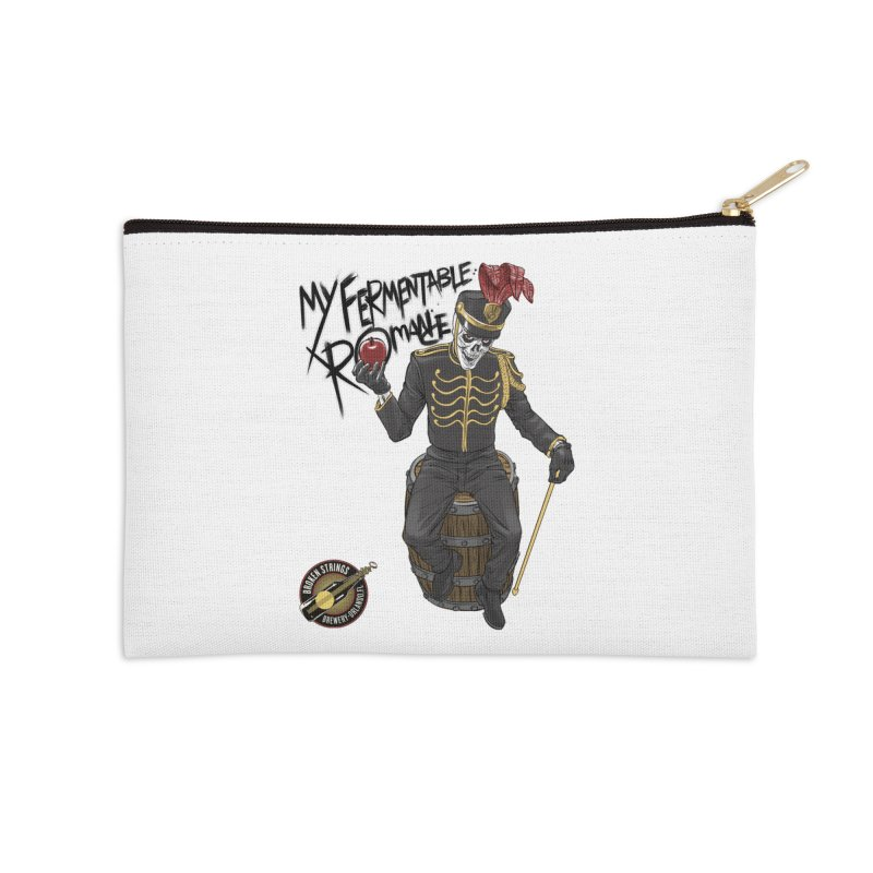 My Fermentable Romance Accessories Zip Pouch by Ayota Illustration Shop