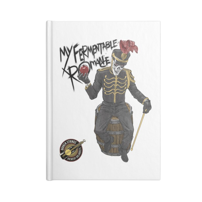 My Fermentable Romance Accessories Notebook by Ayota Illustration Shop