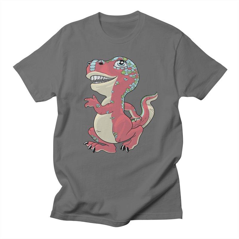 Lil T-Rex Men's T-Shirt by Ayota Illustration Shop