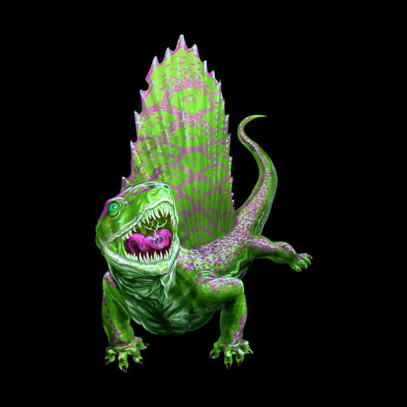 Green Dimetrodon Men's T-Shirt by Ayota Illustration Shop
