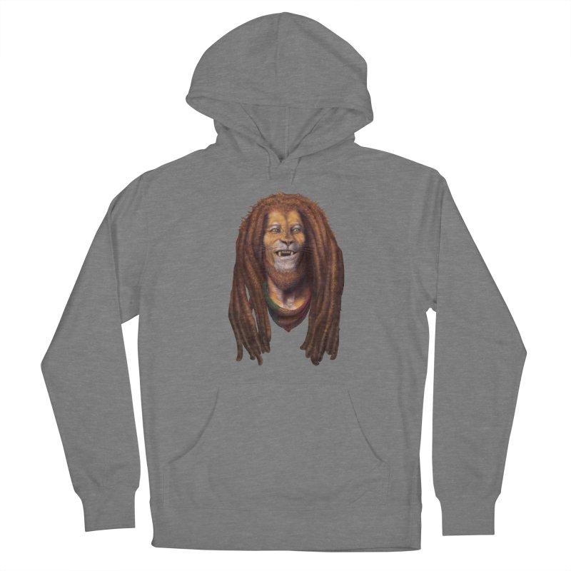 Rasta Lion Men's Pullover Hoody by Ayota Illustration Shop