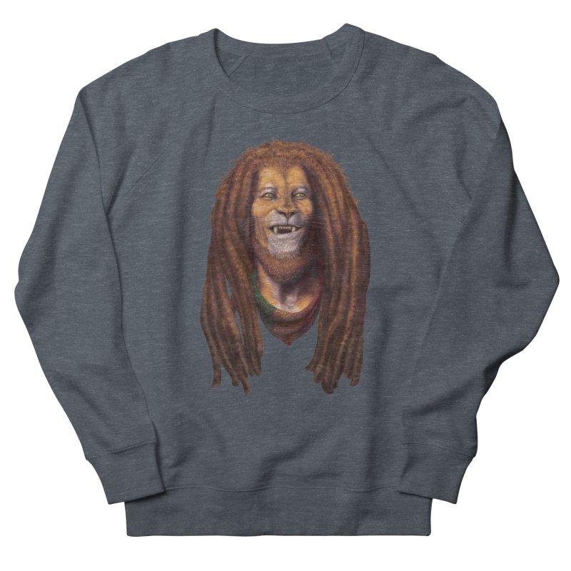 Rasta Lion Women's Sweatshirt by Ayota Illustration Shop