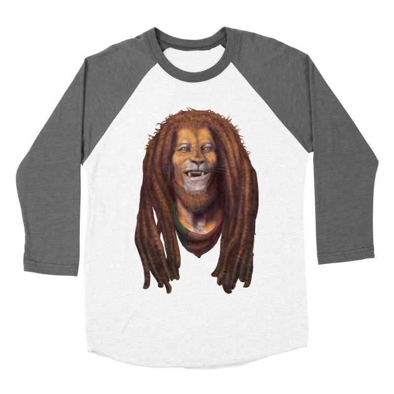 Rasta Lion Women's Longsleeve T-Shirt by Ayota Illustration Shop