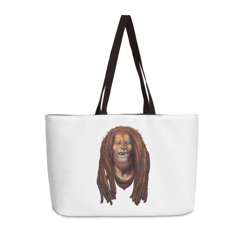 Rasta Lion Accessories Bag by Ayota Illustration Shop