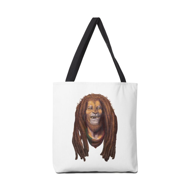 Rasta Lion Accessories Bag by Ayota Illustration Shop