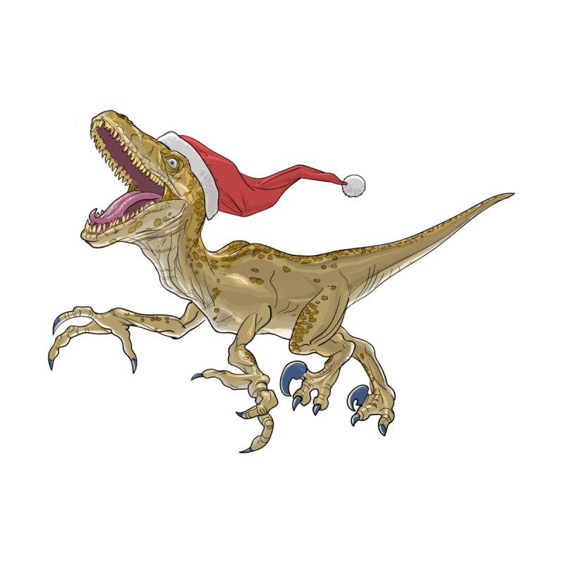 Christmas Velociraptor Women's Tank by Ayota Illustration Shop