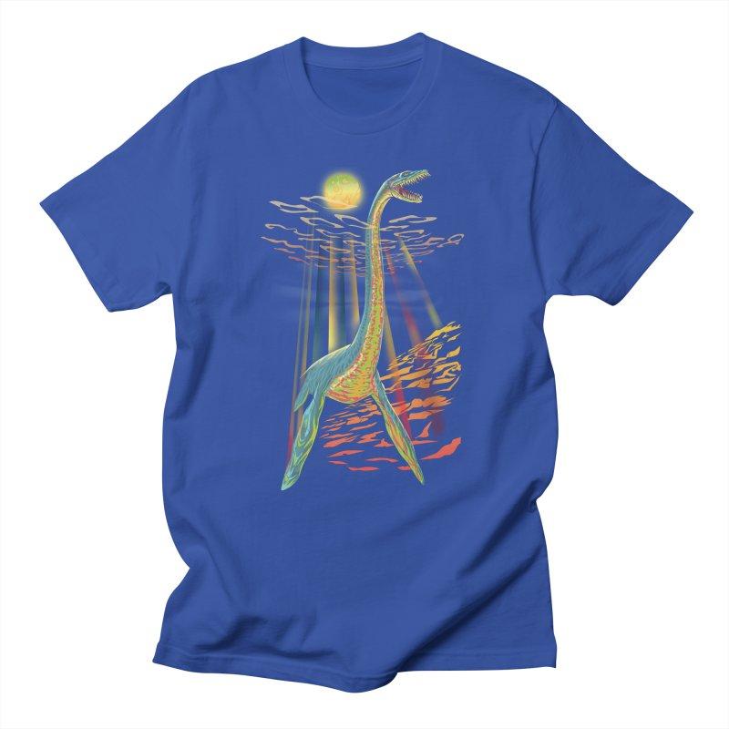 The Loch Ness Plesiosaur Men's T-Shirt by Ayota Illustration Shop