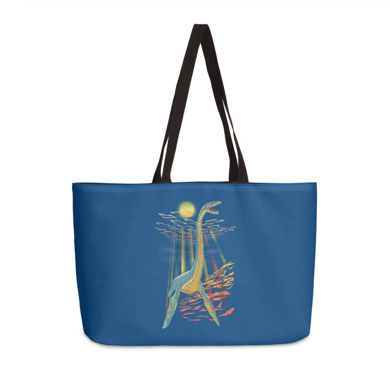 The Loch Ness Plesiosaur Accessories Bag by Ayota Illustration Shop