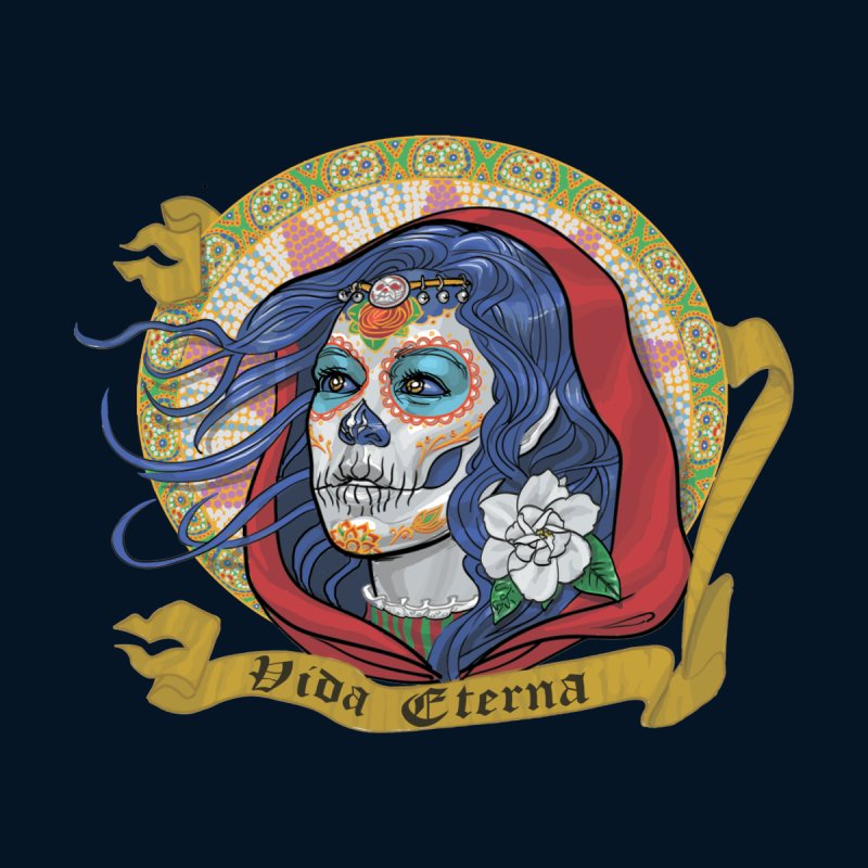 Catrina (Day of the Dead)  Men's T-Shirt by Ayota Illustration Shop