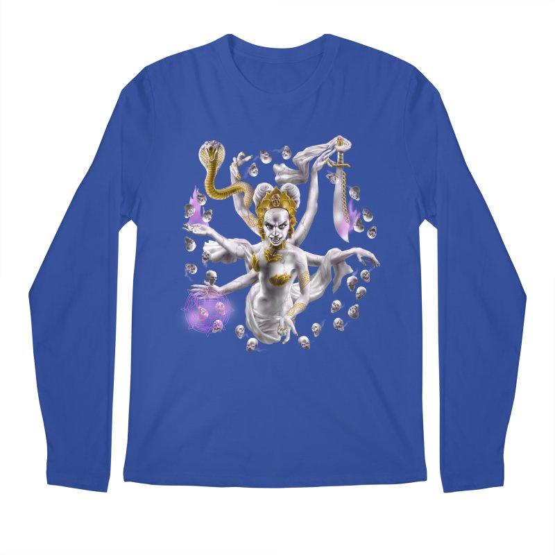 Vampire Goddess Men's Regular Longsleeve T-Shirt by Ayota Illustration Shop