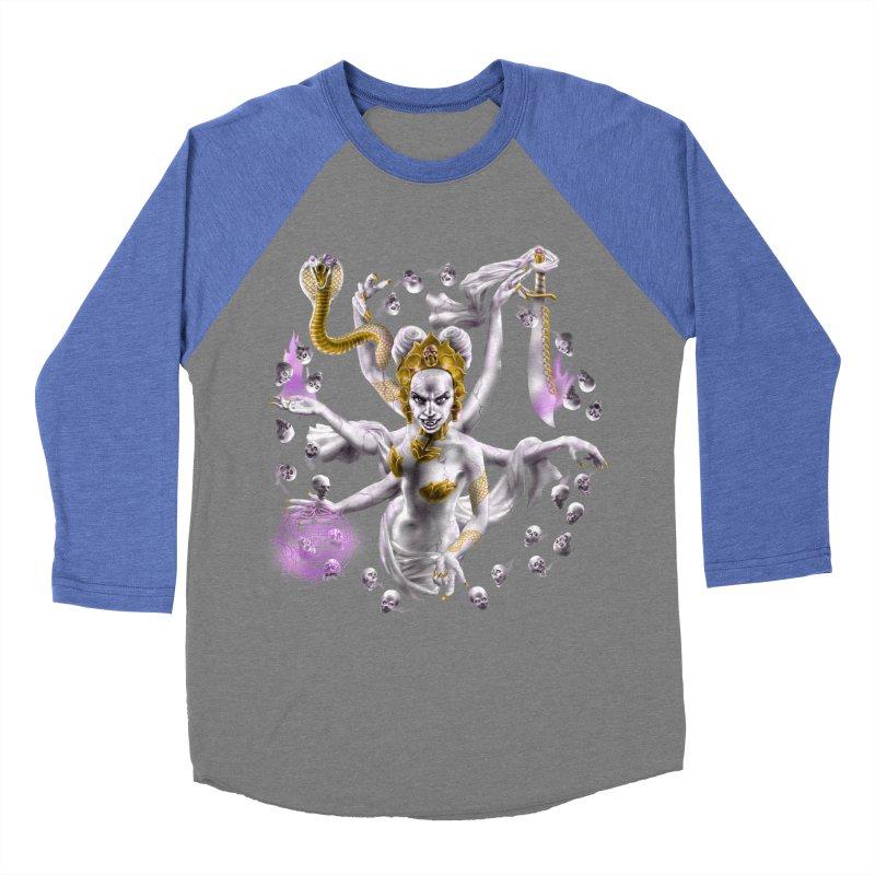 Vampire Goddess Women's Baseball Triblend Longsleeve T-Shirt by Ayota Illustration Shop