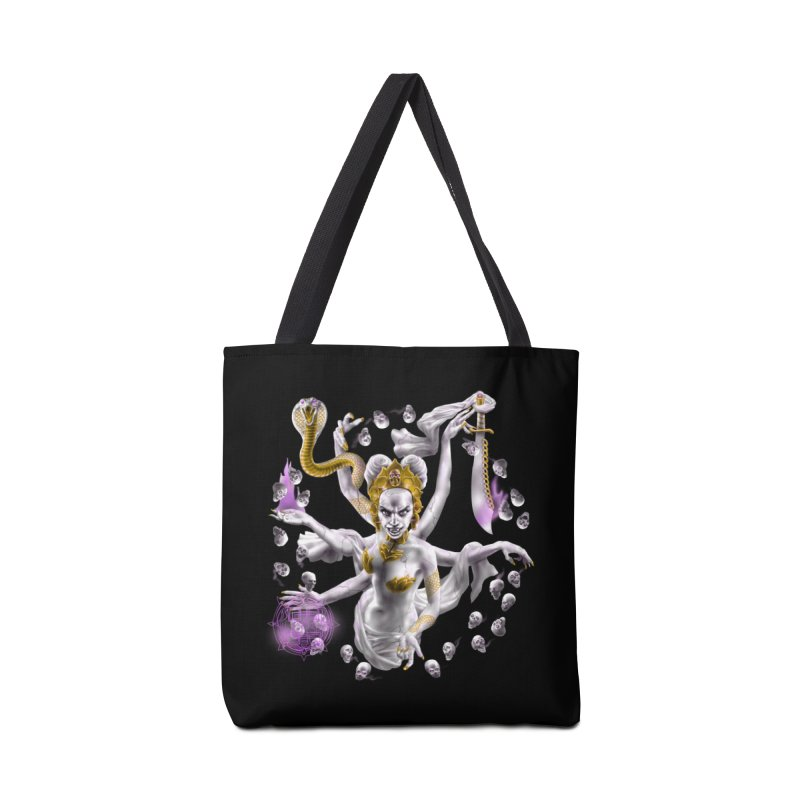 Vampire Goddess Accessories Bag by Ayota Illustration Shop