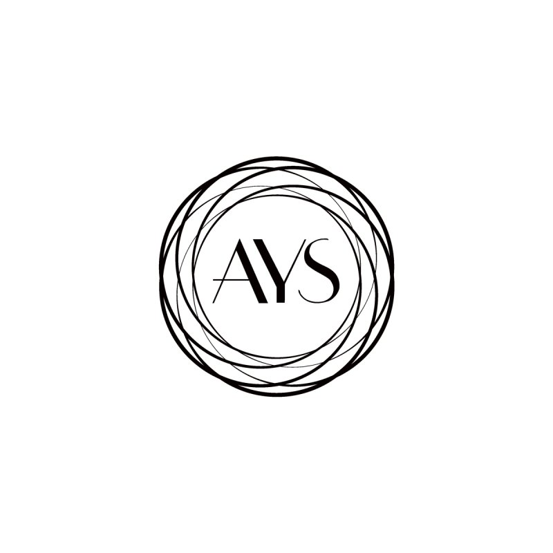 AYS Black Logo Men's Longsleeve T-Shirt by American Youth Symphony Merchandise