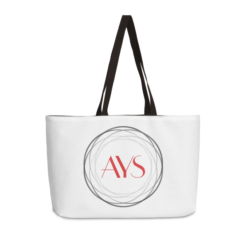 Logo Accessories Weekender Bag Bag by American Youth Symphony Merchandise