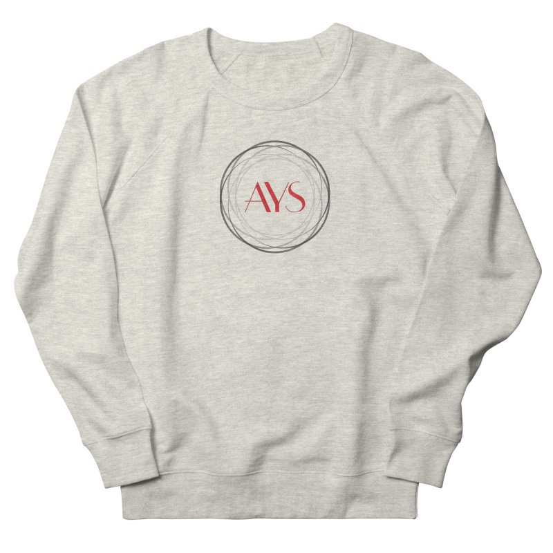 Logo in Men's French Terry Sweatshirt Heather Oatmeal by American Youth Symphony Merchandise