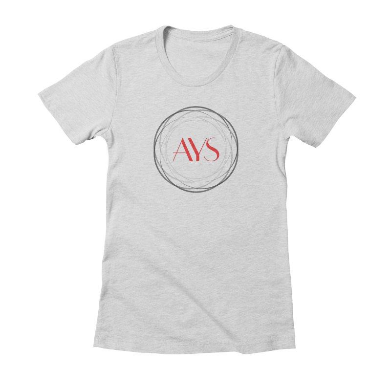 Logo Women's T-Shirt by American Youth Symphony Merchandise
