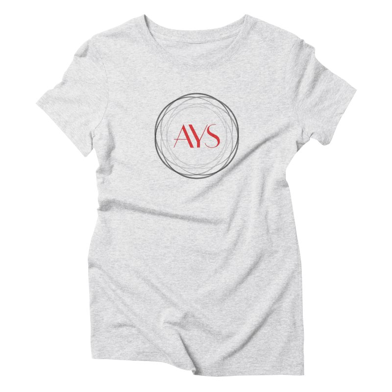 Logo Women's Triblend T-Shirt by American Youth Symphony Merchandise