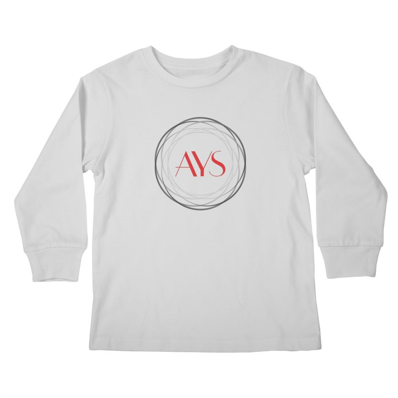 Logo Kids Longsleeve T-Shirt by American Youth Symphony Merchandise