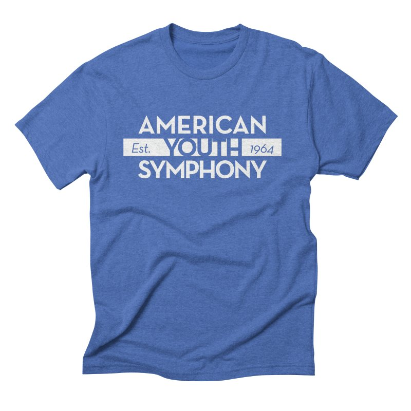Est. 1964 (white) Men's T-Shirt by American Youth Symphony Merchandise
