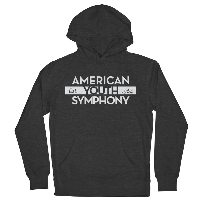 Est. 1964 (white) Men's French Terry Pullover Hoody by American Youth Symphony Merchandise
