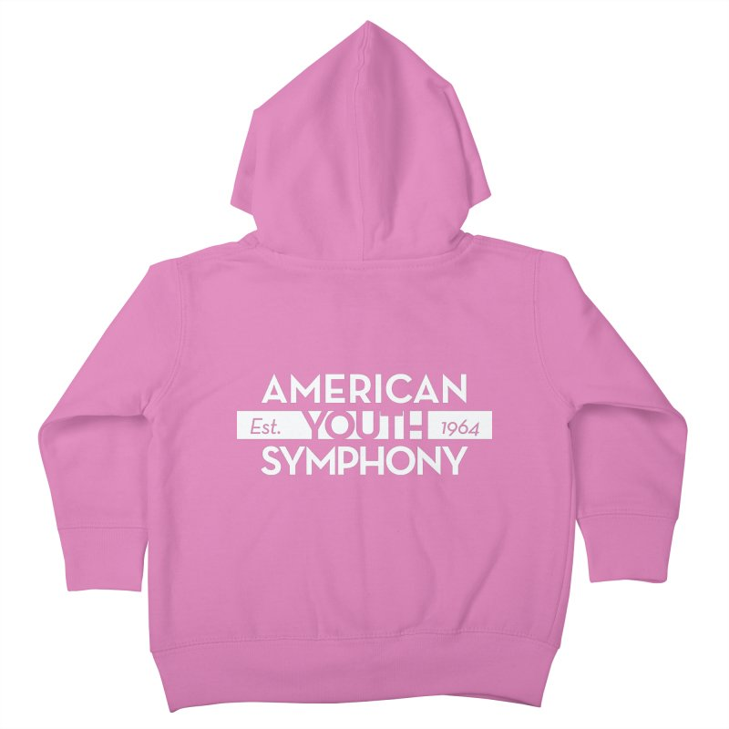 Est 1964, Hoodie Kids Toddler Zip-Up Hoody by American Youth Symphony Merchandise