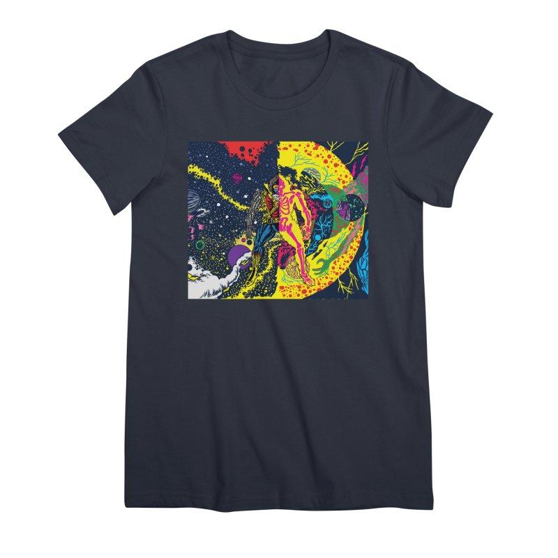 Interstella Haze Women's Premium T-Shirt by Alexis Ziritt