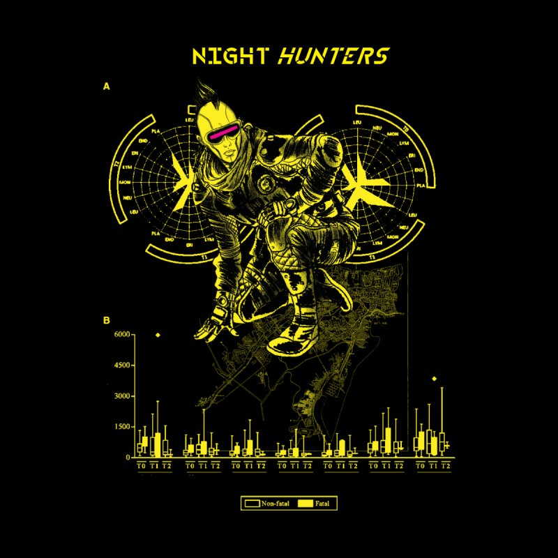 NIGHT HUNTERS MAYA Men's T-Shirt by Alexis Ziritt