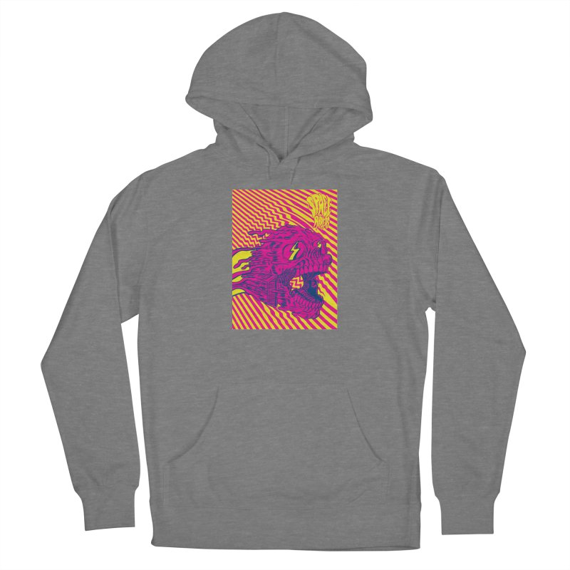 Space Riders - Loco Women's French Terry Pullover Hoody by Alexis Ziritt