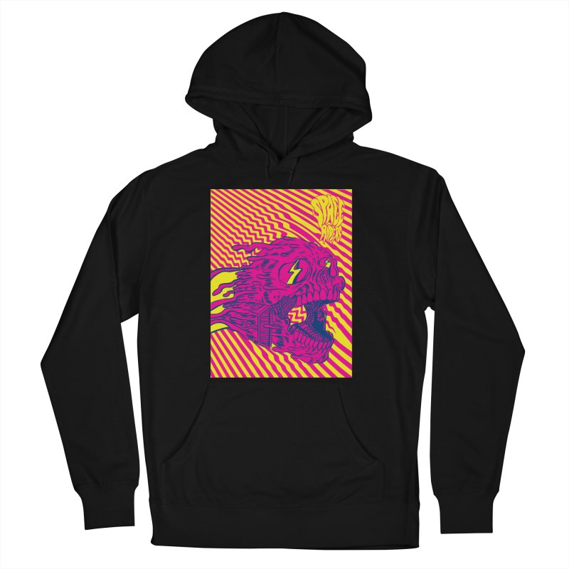 Space Riders - Loco Men's French Terry Pullover Hoody by Alexis Ziritt
