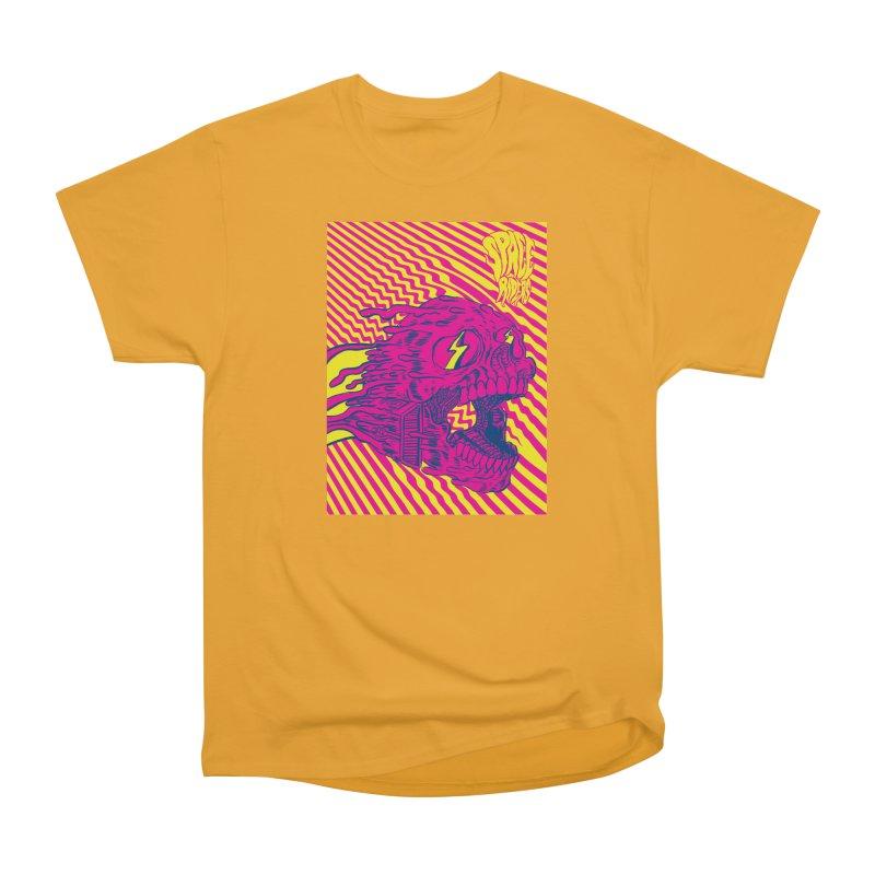 Space Riders - Loco Men's Heavyweight T-Shirt by Alexis Ziritt