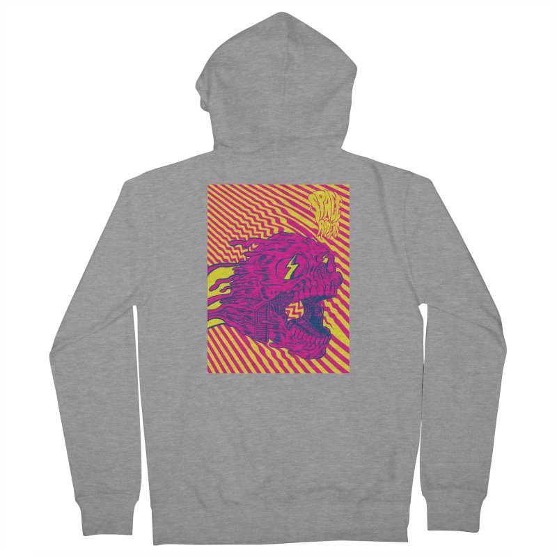 Space Riders - Loco Men's French Terry Zip-Up Hoody by aziritt's Artist Shop