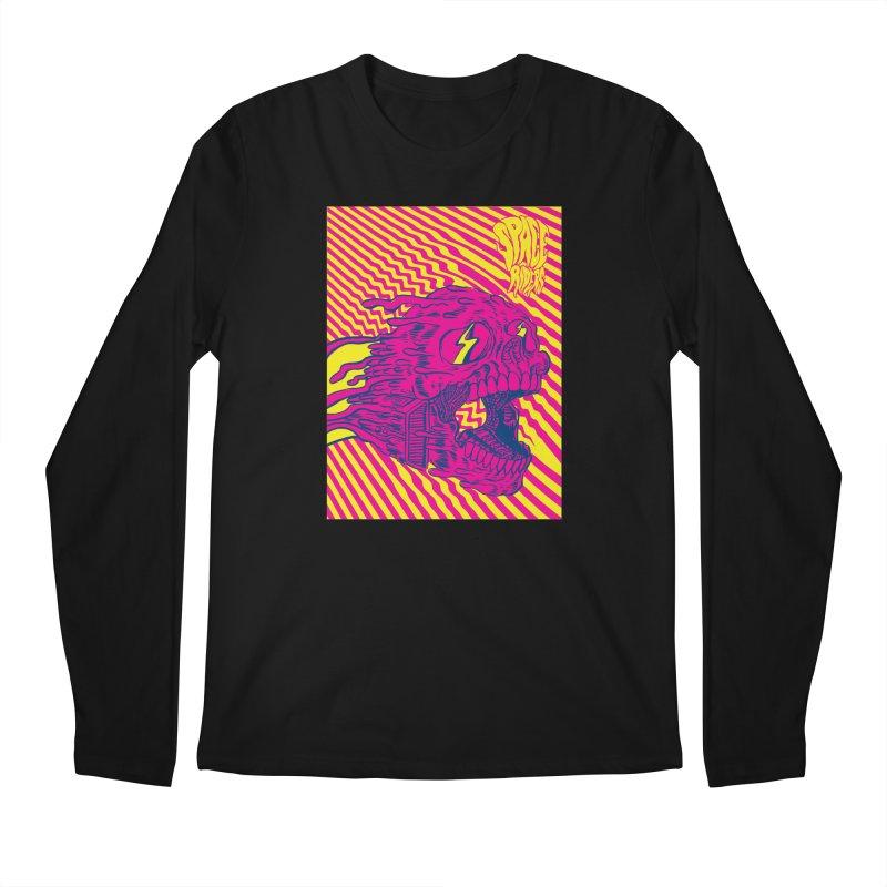 Space Riders - Loco Men's Longsleeve T-Shirt by aziritt's Artist Shop