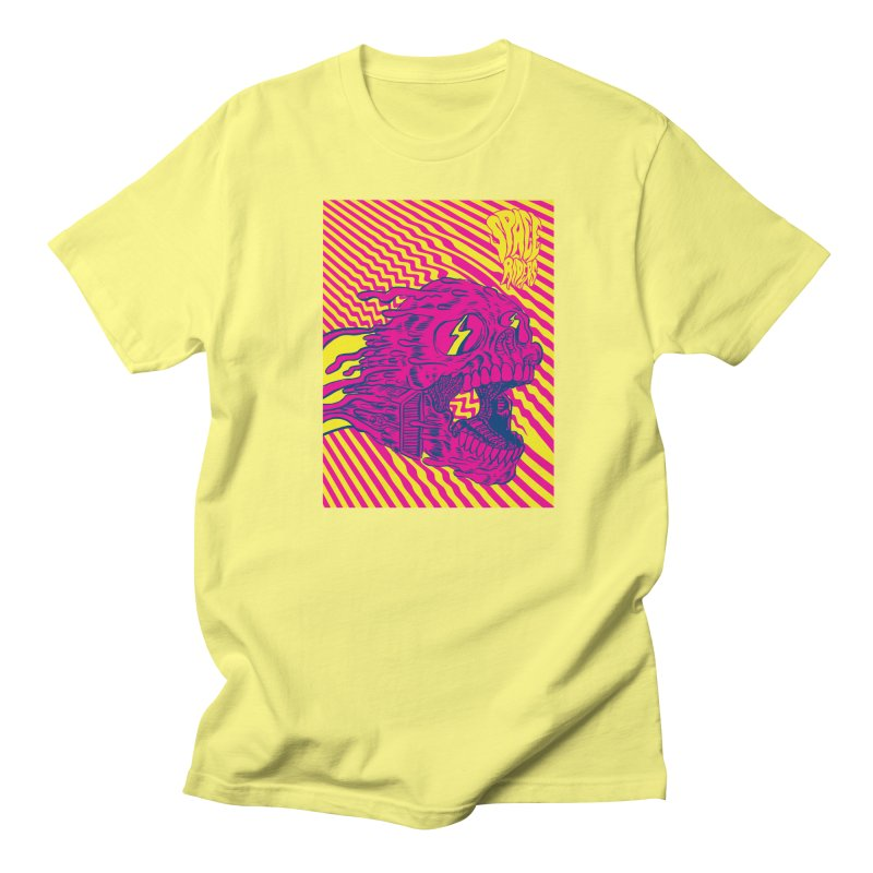 Space Riders - Loco Women's Regular Unisex T-Shirt by Alexis Ziritt