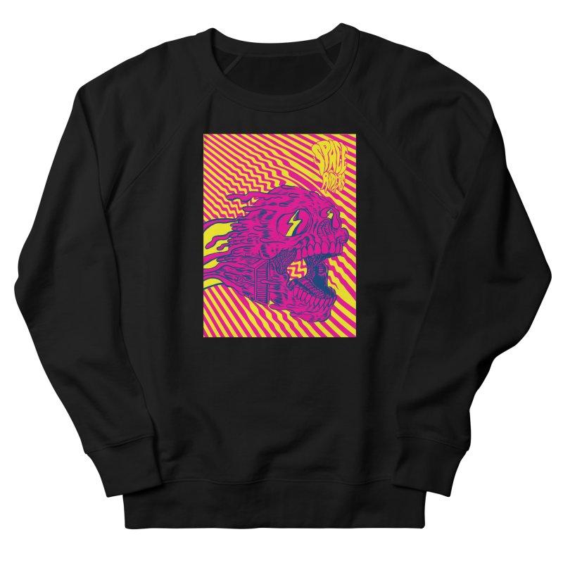 Space Riders - Loco Women's French Terry Sweatshirt by Alexis Ziritt