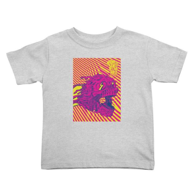 Space Riders - Loco Kids Toddler T-Shirt by Alexis Ziritt