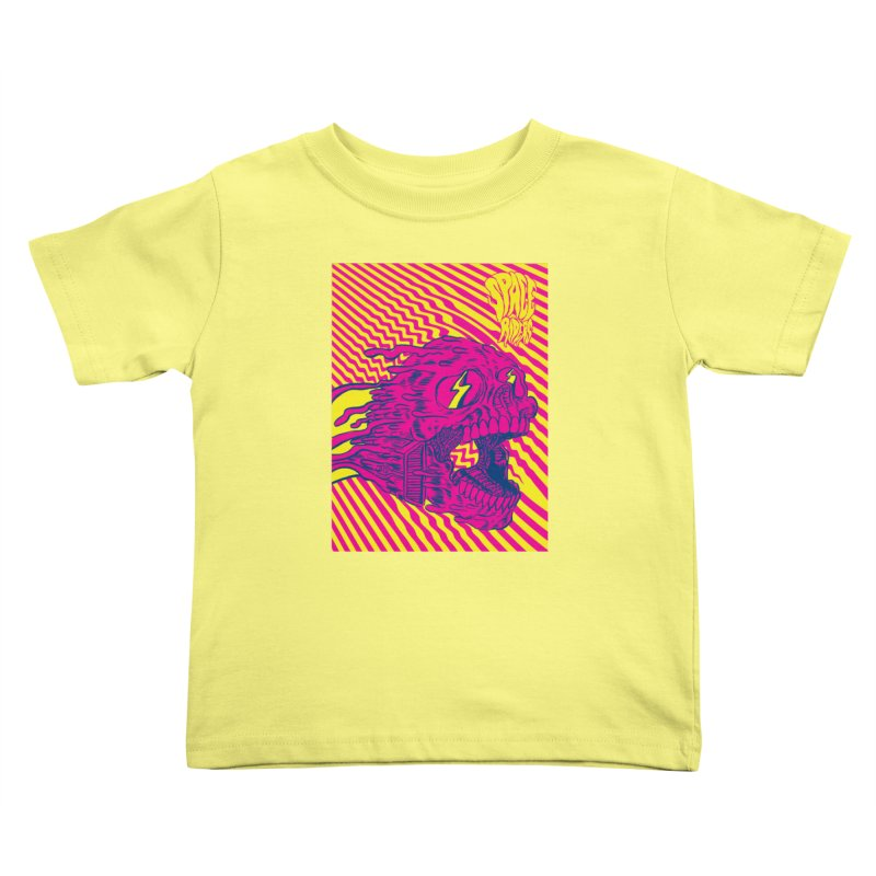 Space Riders - Loco Kids Toddler T-Shirt by aziritt's Artist Shop