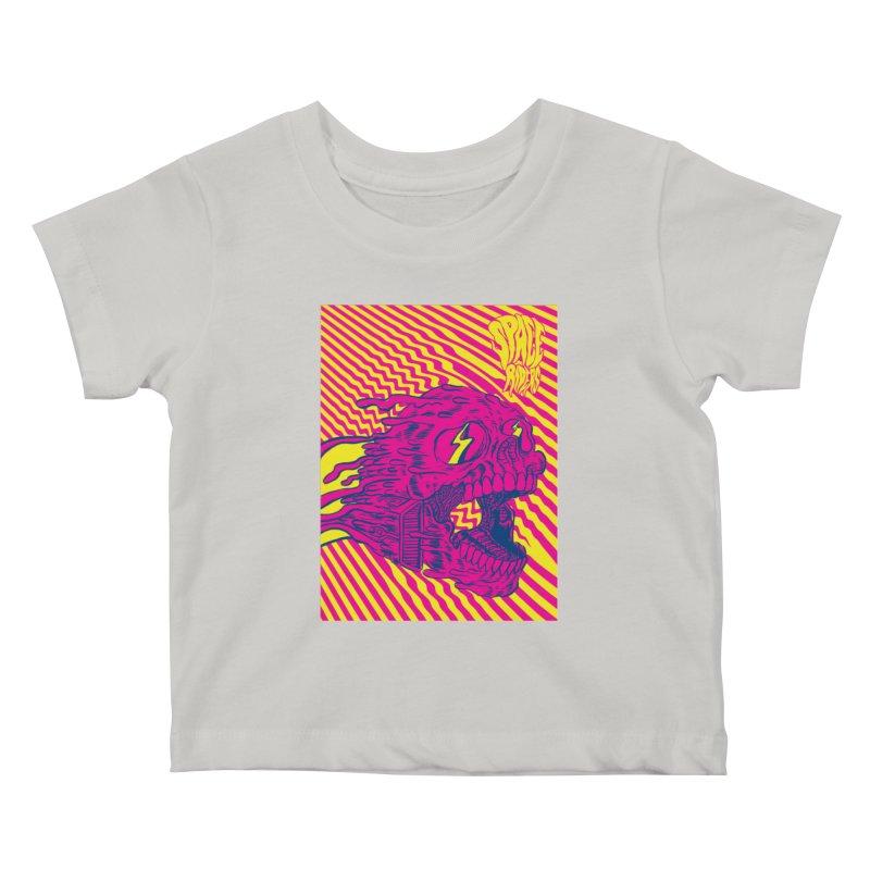 Space Riders - Loco Kids Baby T-Shirt by aziritt's Artist Shop