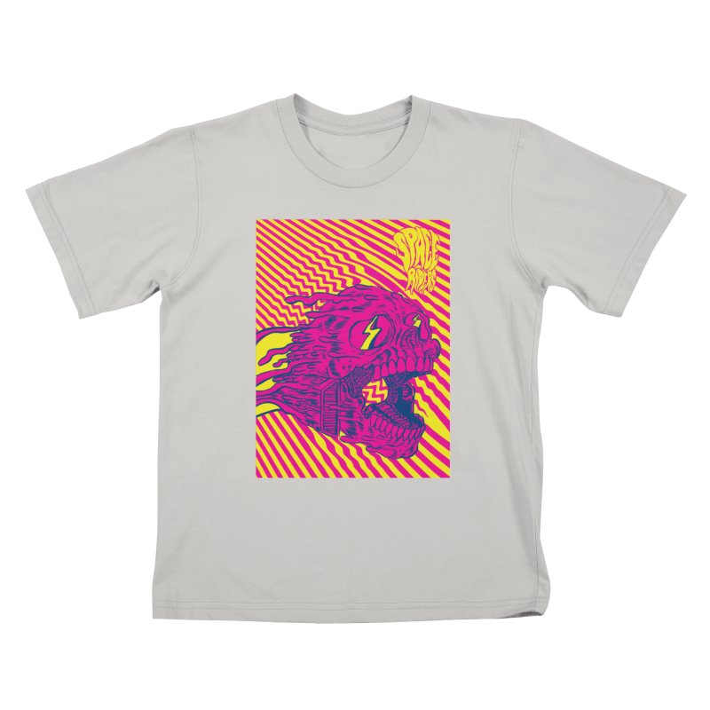Space Riders - Loco Kids T-Shirt by aziritt's Artist Shop