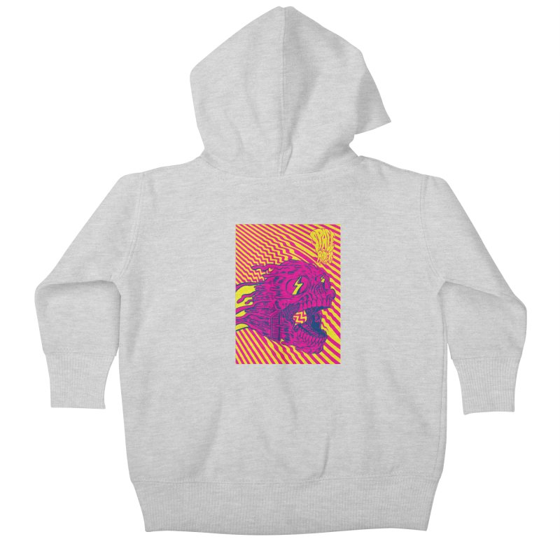Space Riders - Loco Kids Baby Zip-Up Hoody by aziritt's Artist Shop