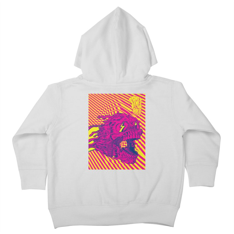 Space Riders - Loco Kids Toddler Zip-Up Hoody by Alexis Ziritt