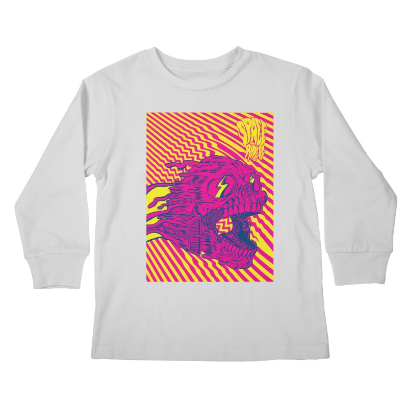 Space Riders - Loco Kids Longsleeve T-Shirt by aziritt's Artist Shop