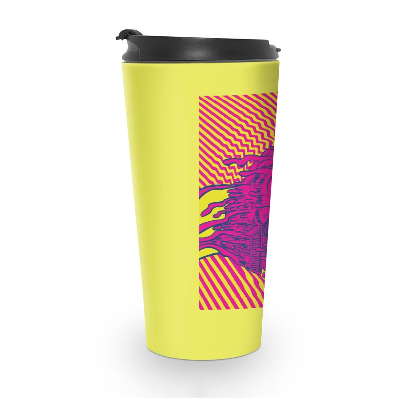 Space Riders - Loco Accessories Travel Mug by Alexis Ziritt