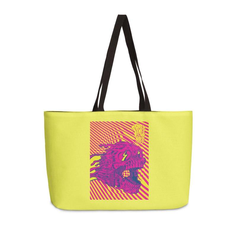 Space Riders - Loco Accessories Weekender Bag Bag by Alexis Ziritt