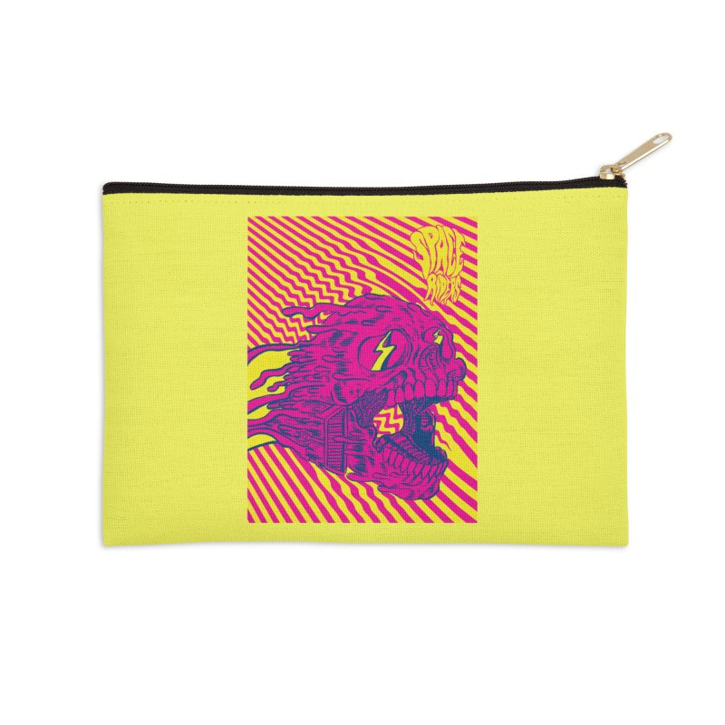 Space Riders - Loco Accessories Zip Pouch by Alexis Ziritt