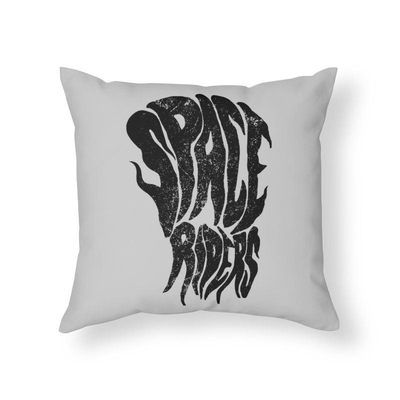 Space Riders  Home Throw Pillow by Alexis Ziritt