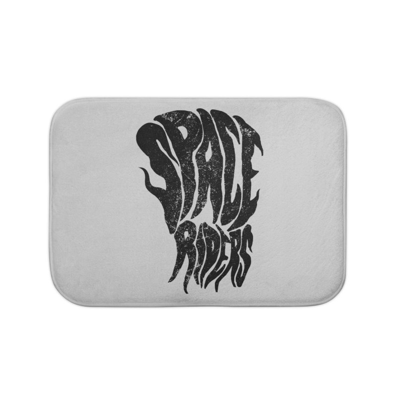 Space Riders  Home Bath Mat by aziritt's Artist Shop