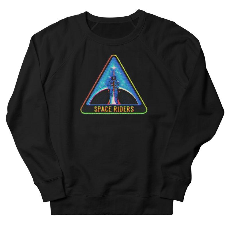 Space Riders - Glitch  Women's French Terry Sweatshirt by Alexis Ziritt
