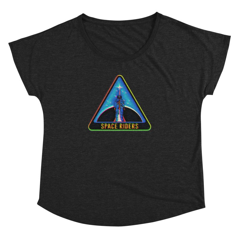Space Riders - Glitch  Women's Dolman by aziritt's Artist Shop