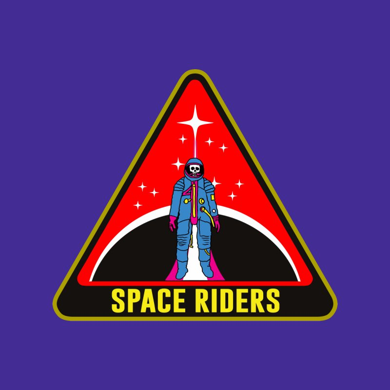 Space Riders - Patch  Men's Sweatshirt by Alexis Ziritt