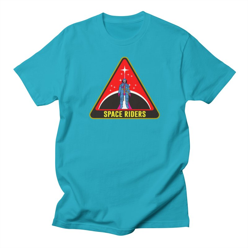 Space Riders - Patch  Women's Regular Unisex T-Shirt by Alexis Ziritt